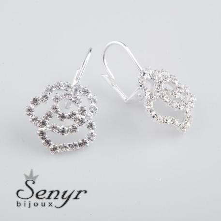 Earrings roses