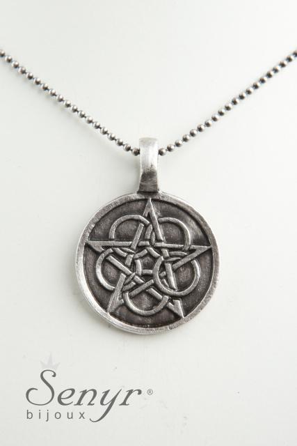 Pentagram with Flower of life