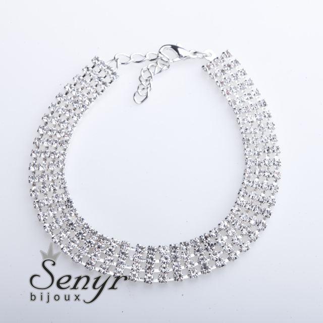 Bracelet four lines