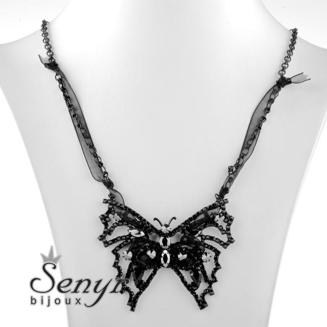 Necklace butterfly
