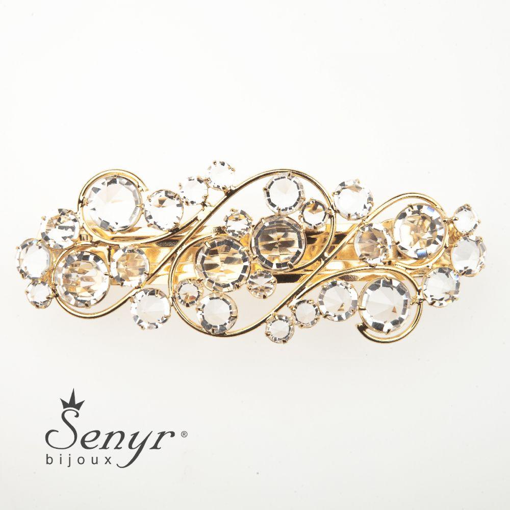 Hairclip Romantic Gold