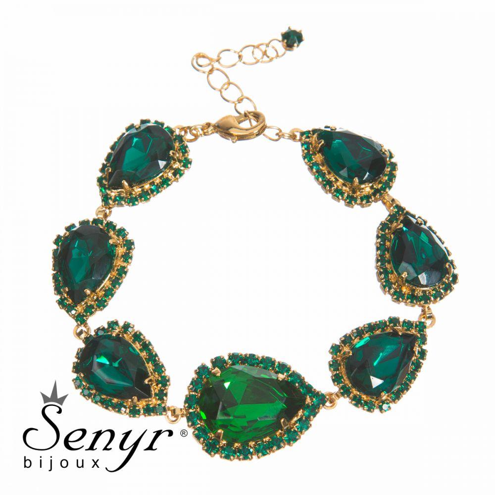 Bracelet Queen Emerald