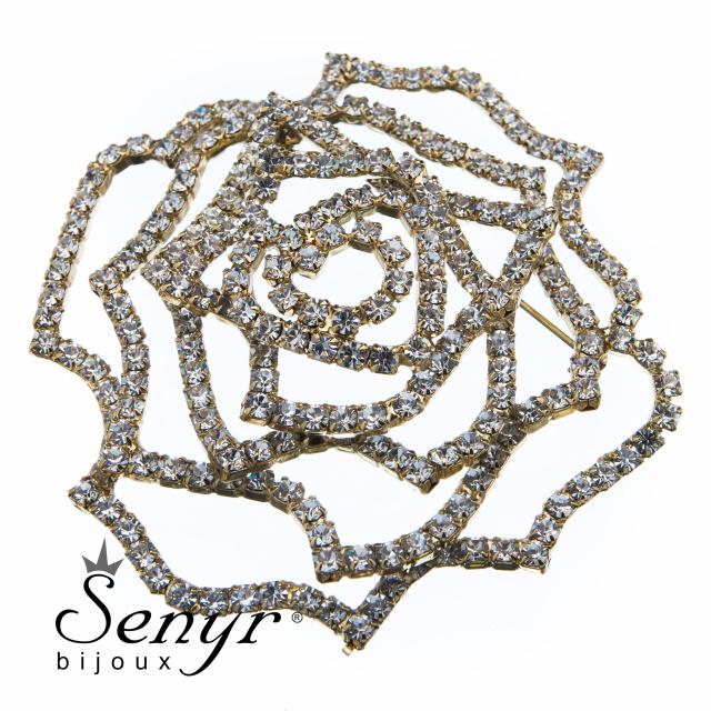 Deluxe brooch Rose