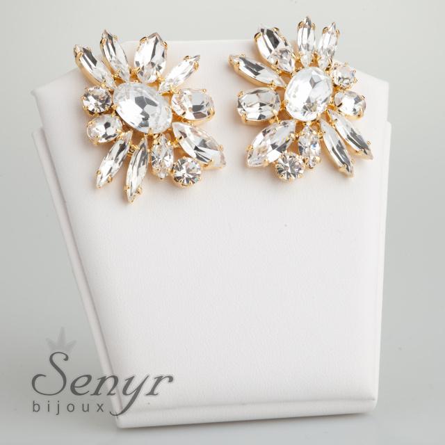 Earrings Bloom Gold