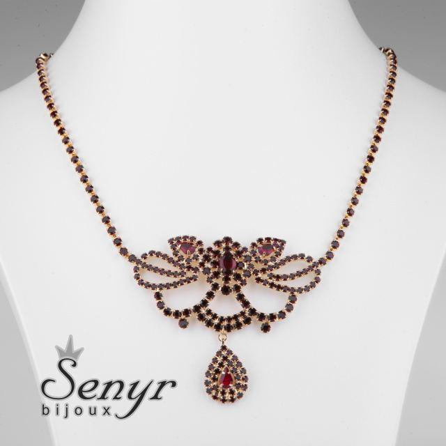 Garnet necklace