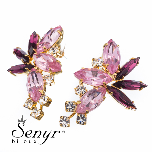 Deluxe earrings Precious Blossom