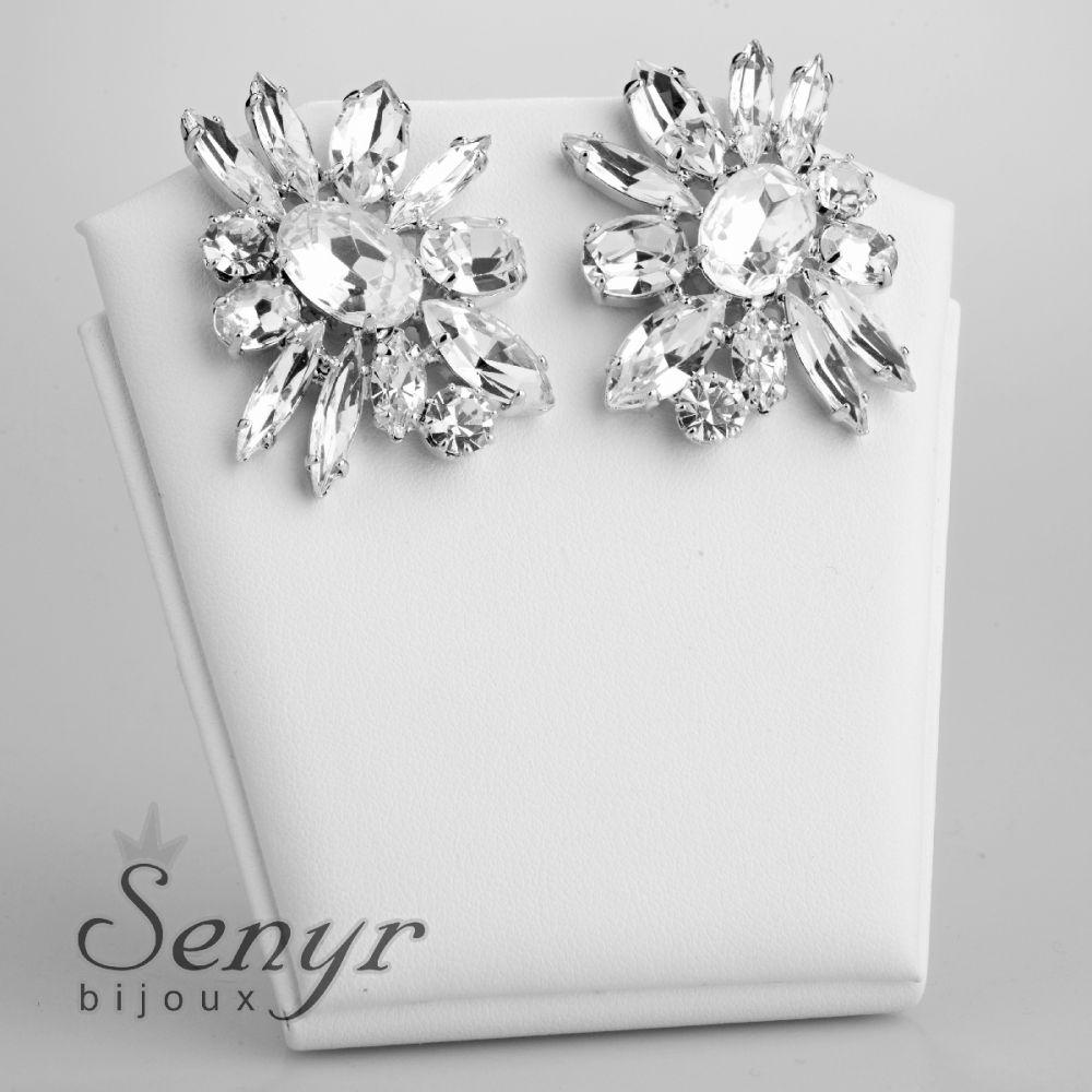 Earrings Bloom Translucent