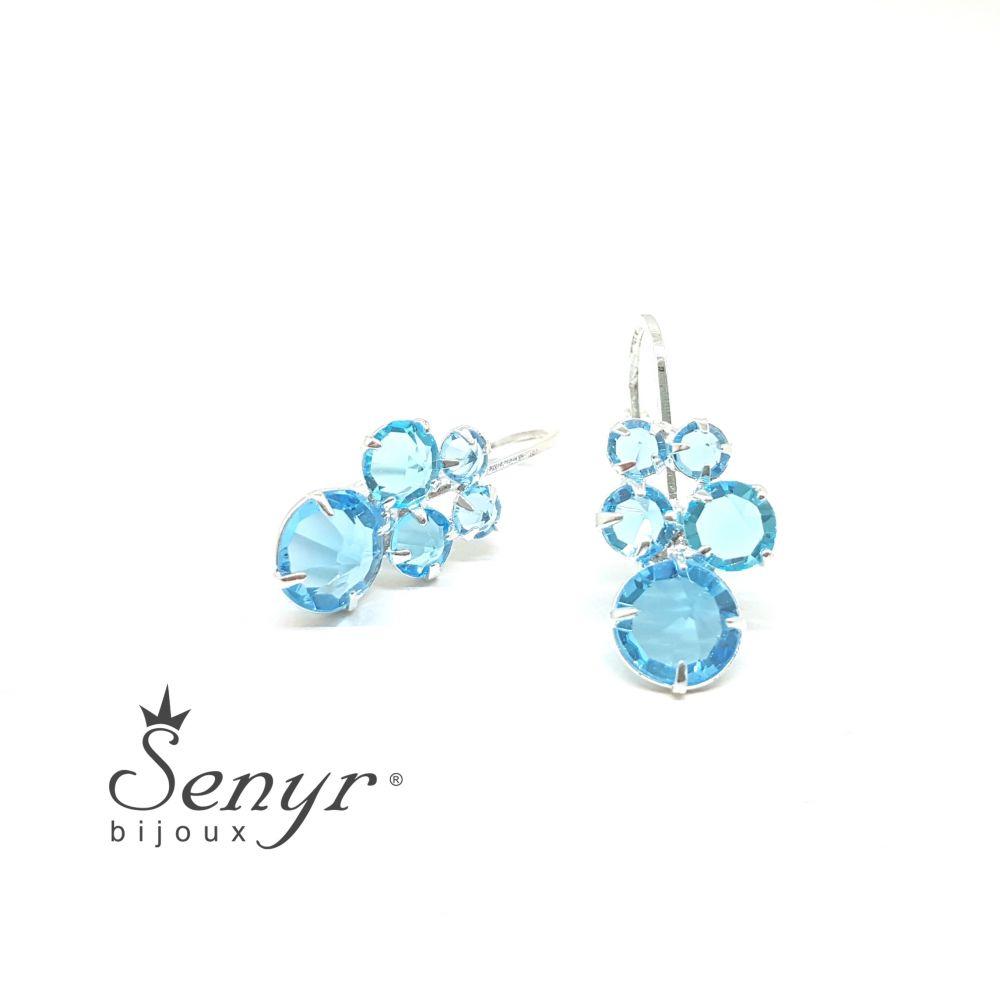 Bohemia crystal earrings HONEY