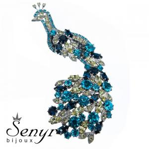 Brooch Peacock